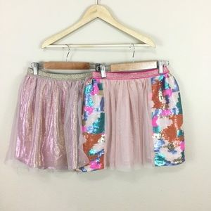 Two Girl's Cat & Jack Skirts